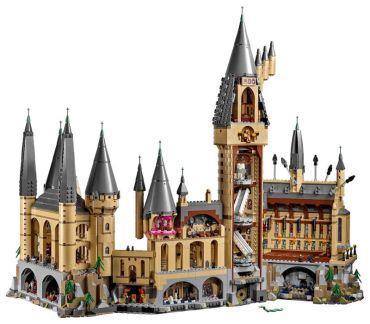 El Castillo de Hogwarts en LEGO TENDRÁ 6000 PIEZAS