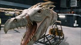 Londres: primer vistazo al modelo de tamaño real del dragón ucraniano Ironbelly