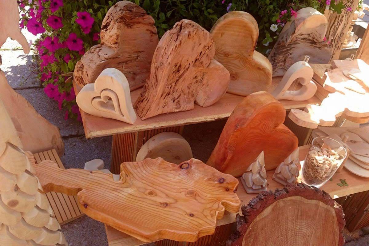 Zirbenholz, Kunstwerk, Herz für Holz, kreativ