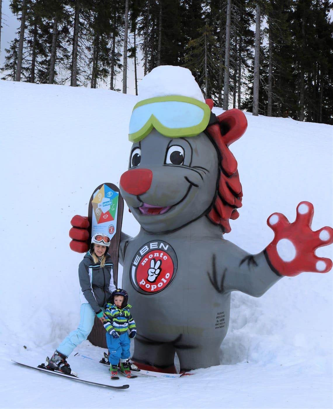 Skigebiet in Eben ist besonders Familienfreundlich