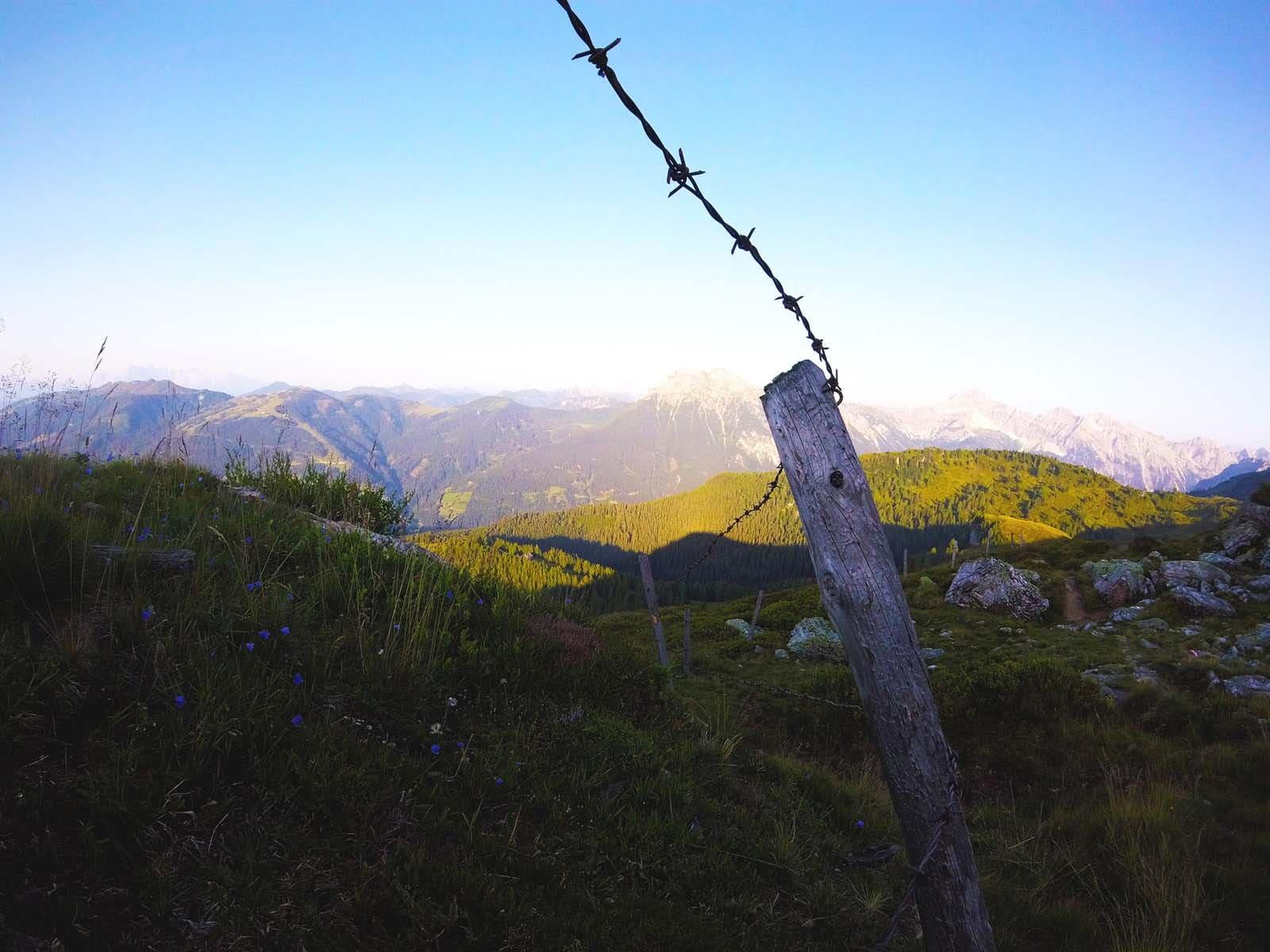 unglaubliches Panorama am Penkkopf in Wagrain-Kleinarl