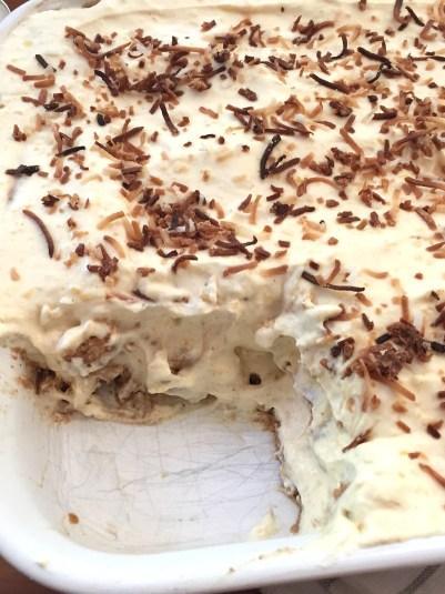 Chaï & Mango Icebox Cake