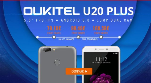 Oukitel U20 Plus igogo
