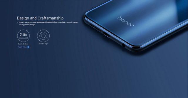 Offerta Huawei Honor 8 internazionale colore blu a €335.09