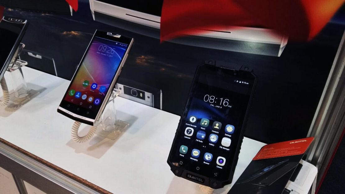 MWC 2017, Oukitel annuncia K10000 Pro, K6000 Plus e U20 Plus Jet Black!