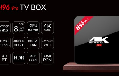 sconto per tv box android h96 pro