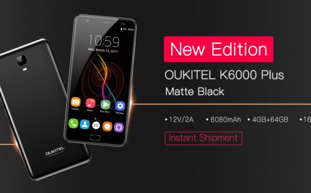 Oukitel K6000 Plus e due novità top: nuova variante nera e nuovo aggiornamento software