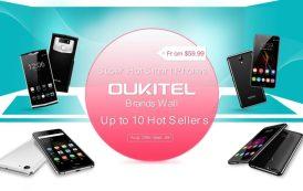 Con OUKITEL e GearBest per voi dieci interessanti smartphone in offerta a partire da 50 euro
