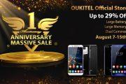 Oukitel Store compie un anno: fino a ferragosto tutto in sconto! Affrettatevi