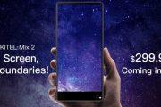 Oukitel Mix 2 e Oukitel C8, pronti al debutto due nuovi smartphone con Infinity Display