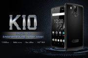 OUKITEL K10 e la sua batteria da 11.000 mAh: vi basteranno solo 3 ore per ricaricarlo tutto