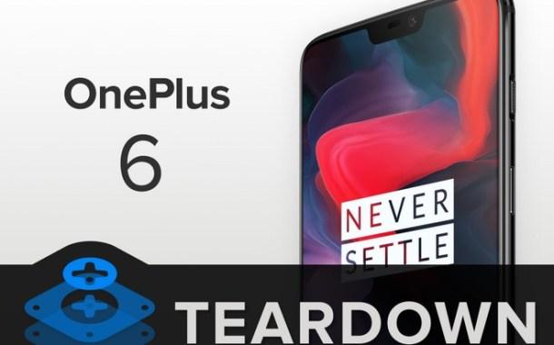 OnePlus 6 è molto fragile ma non impossibile da riparare | iFixit nuovamente in azione