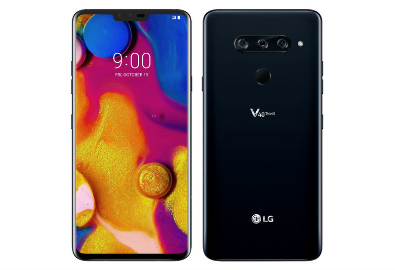 Come fare screenshot LG V40 ThinQ