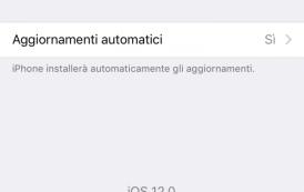 Come impostare gli aggiornamenti automatici su iOS 12