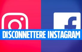 Come scollegare Facebook da Instagram