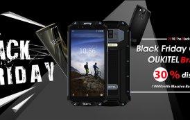 OUKITEL è pronta per il Black Friday, tutti gli smartphone con batteria 10000mAh fino al 30% di SCONTO
