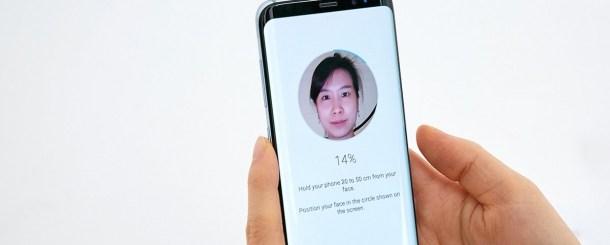 Come Impostare sblocco con riconoscimento dell'iride su Samsung Galaxy S9 e Galaxy S9 Plus