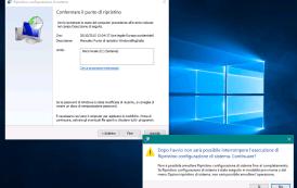 Come attivare i punti di ripristino su Windows 10