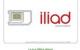 Come attivare la propria SIM Iliad acquistata online