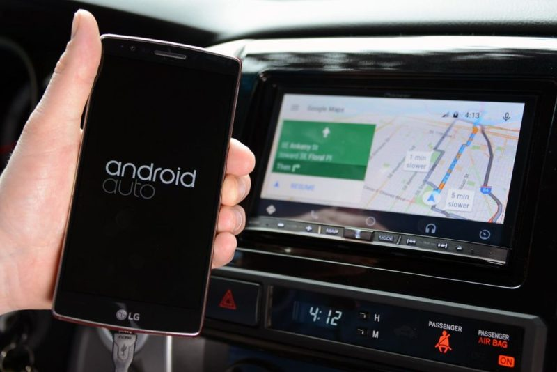 Ascoltare musica su Android Auto