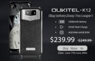 OUKITEL K12 in prevendita su Gearbest a $239,99