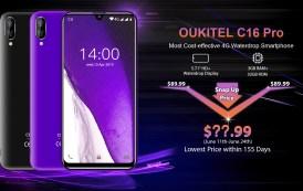 OUKITEL C16 Pro rilasciato, nuovo device economico 4G con ottime caratteristiche