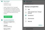 Come sincronizzare WhatsApp su Google Drive