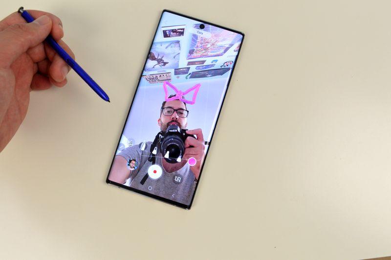 Come creare maschere con stile Instagram storie su Samsung Galaxy Note 10