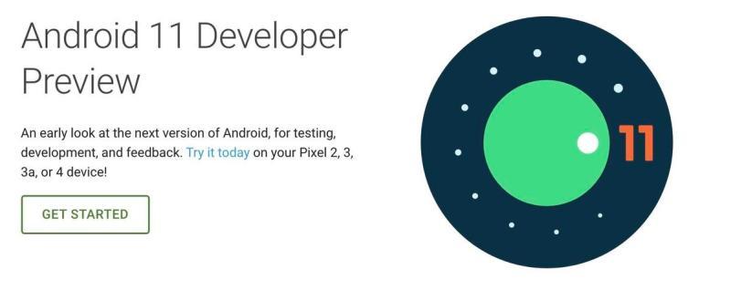 Developer Preview di Android 11