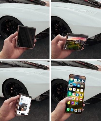 iPhone 12 pieghevole