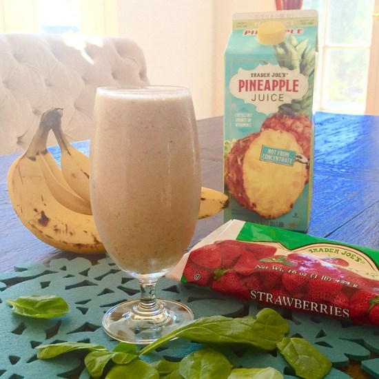 pineapple protein greens