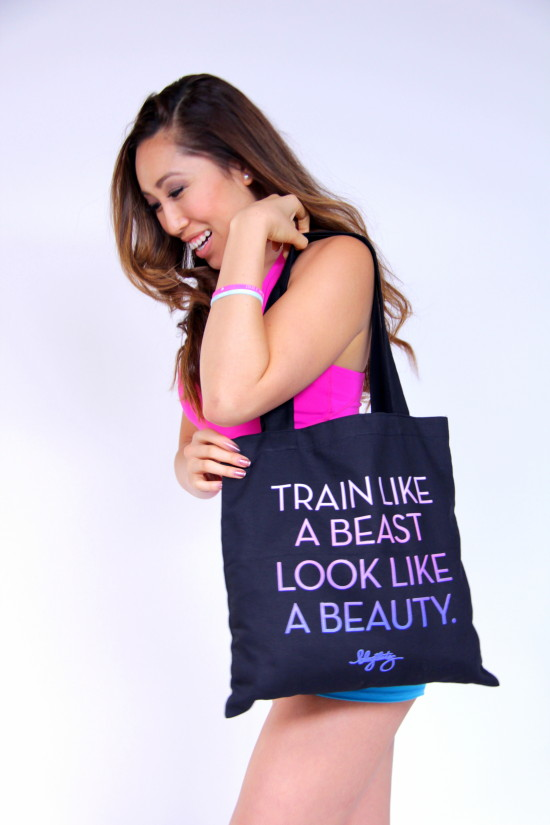 cassey and canvas tote