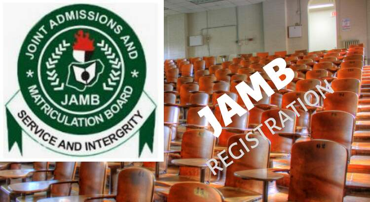 Jamb closes registration form