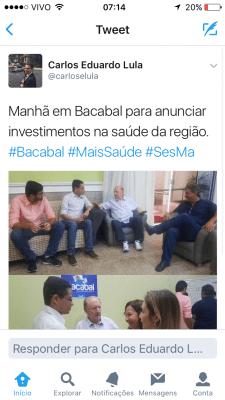NÃO FOI DESSA VEZ! ZÉ VIEIRA CONTINUA FIRME E FORTE COMO PREFEITO DE BACABAL
