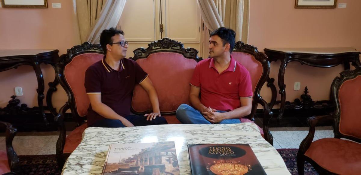 Rubens Júnior garante R$ 200 mil em equipamentos para o Teatro Arthur Azevedo