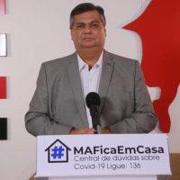 Flávio Dino defende direitos sociais como auxílio emergencial, SUS e empregos em ato do Direitos Já.