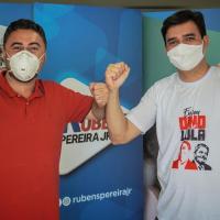 PT e PCdoB juntos: Lawrence Melo declara apoio à Rubens Jr
