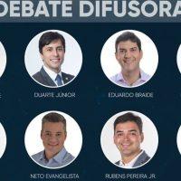 Debate na TV Difusora renova as esperanças dos candidatos e marca reta final da campanha