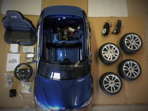 BMW X6 enfant 12 volts