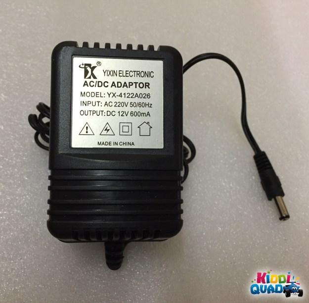 chargeur 12 volts voiture électrique pour enfant kiddi quad