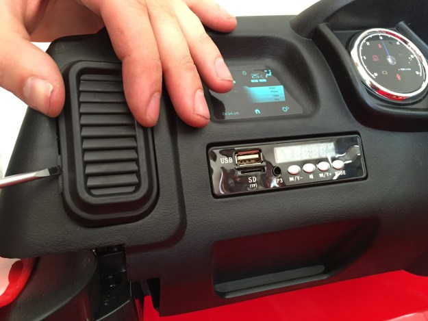 changer interface audio ford ranger enfant 12 volts