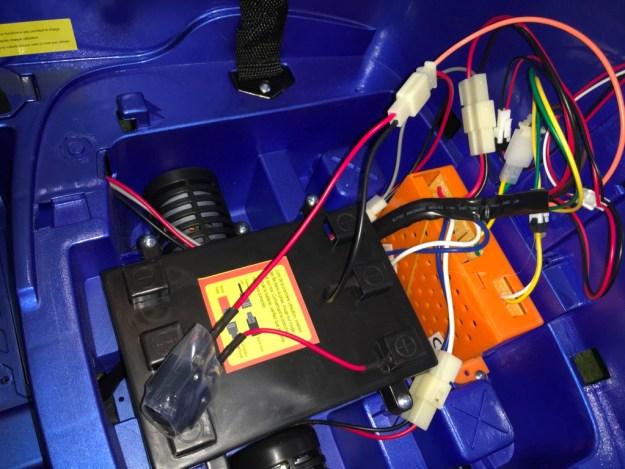 brancher batterie q7 12 volts