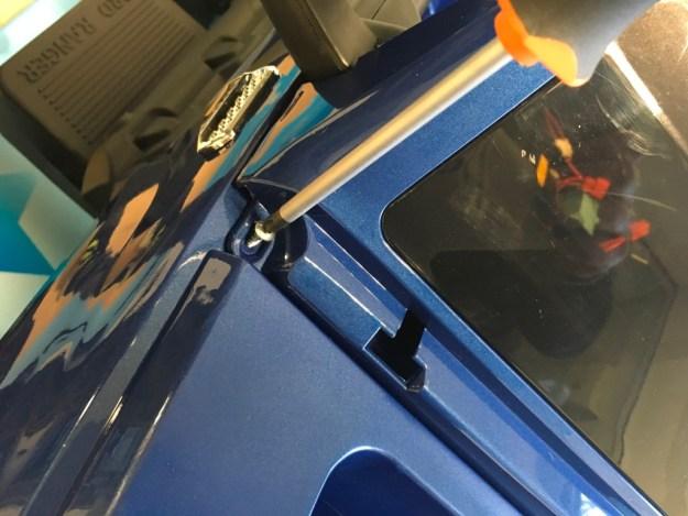 visser pare-brise monster truck 12 v ford