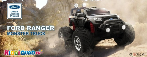 monster truck 12 volts enfant kiddi quad