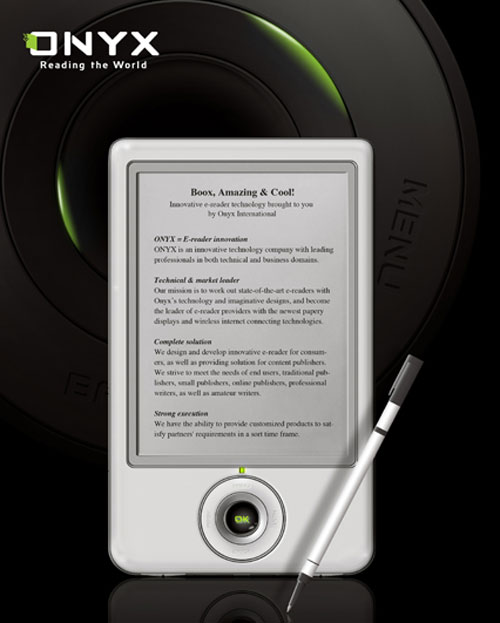 onyx-Boox Ebook Reader