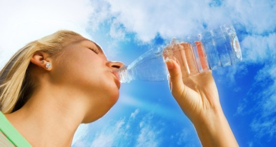 Drink Plenty Of Water for oily skin