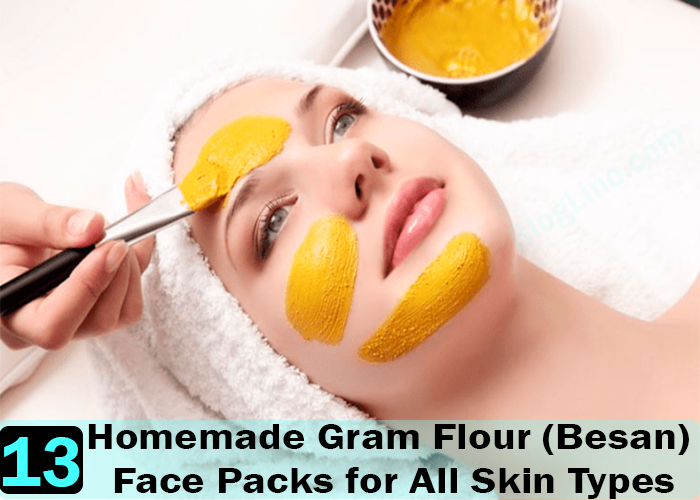 Homemade-Gram-Flour-(Besan)-Face-Packs-for-All-Skin-Types