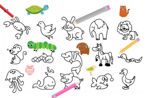 Animali Da Stampare E Colorare Gratis Disegni Di Cane