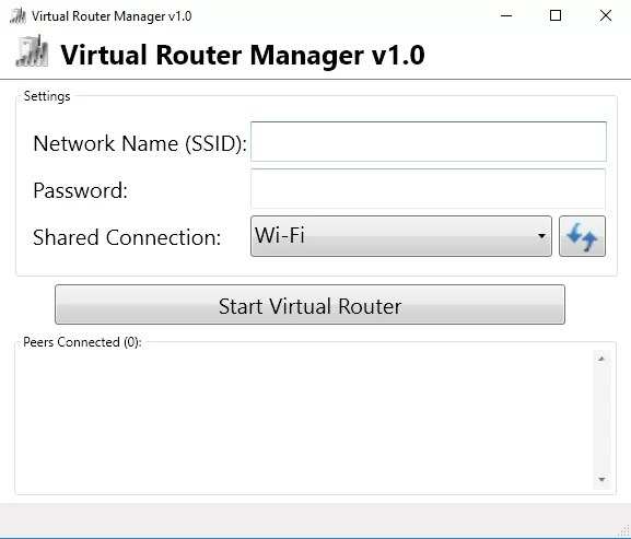 Virtual Router-best softwares to turn your windows pc into wi-fi hotspot