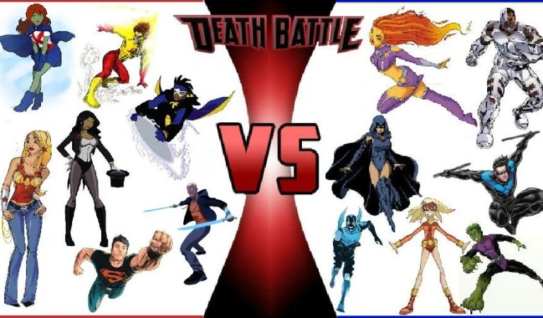 Young Justice vs Teen Titans